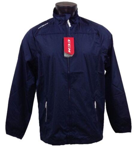 CCM Hockey Lightweight Rink Suit Jacket Navy Size Senior/Adult