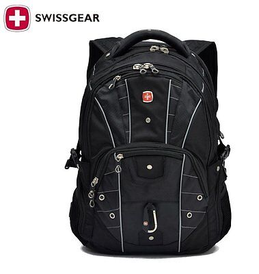 Swiss Gear 17.3 Inch Laptop Backpack Travel Bag Camping Hiking ...