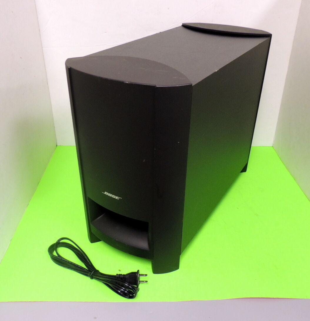 Bose Car Sound System Ebay: Bose CineMate 15 Home Theater Speaker System Subwoofer