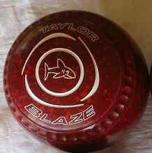 A set of 4 Taylor Blaze size 3H Date stamp 22 lawn bowls Tuross Head Eurobodalla Area Preview
