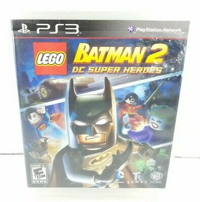 LEGO Batman 2 DC Super Heroes PS3 Sony Playstation 3 Video Game (Lego Batman 2 Dc Super Heroes Ps3)