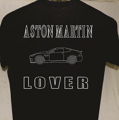 Classic Motor Aston Martin Automobile Fine Detail Illustration T-Shirt S to 5XL
