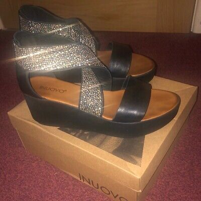Inuovo wedge sandals - size 40/7