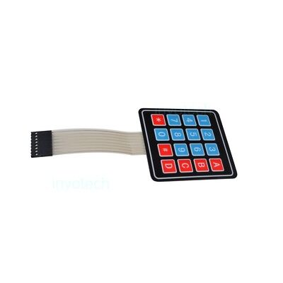 New 4 x 4 Matrix Array 16 Key Membrane Switch Keypad Keyboard for Arduino AVR