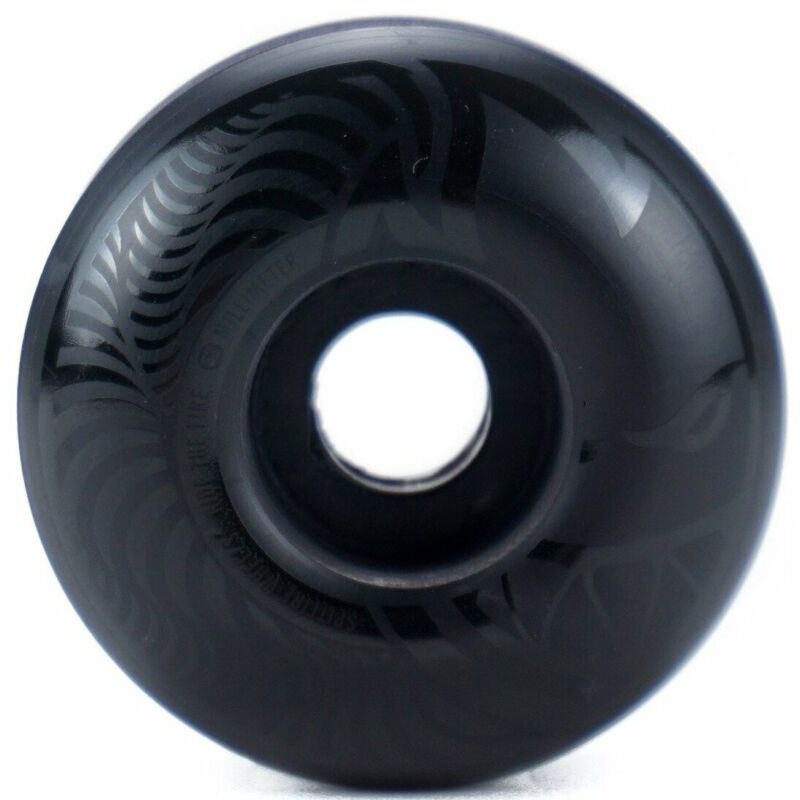 Spitfire Death to Hypno Skateboard Wheels 53mm (Black): New Set of 4