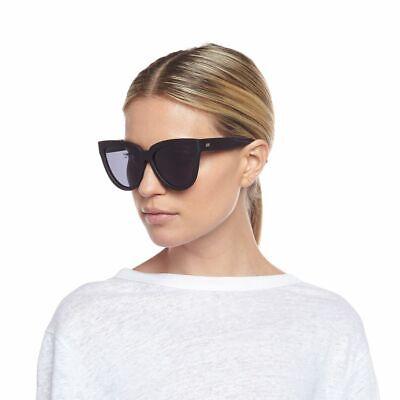 LE SPECS 'Liar Lair' Black Rubber Polarized Women's Sunglasses
