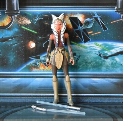 STAR WARS FIGURE 2015 REBELS ANIMATED AHSOKA TANO