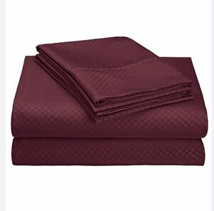 4 Pieces sheet set in king size