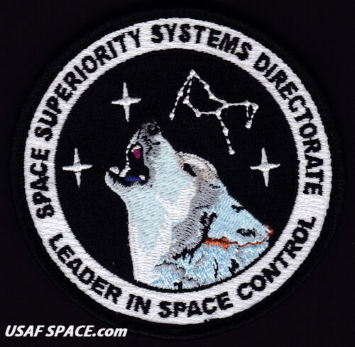 USAF SPACE SUPERIORITY SYSTEMS DIRECTORATE -Los Angeles, AFB- ORIGINAL VEL PATCH