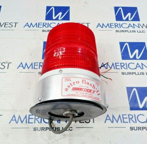 Astro Flash LL800-B Ser B Red Strobe Light