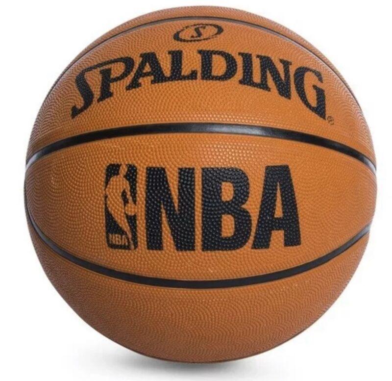 Spalding NBA Game Basketball Replica Outdoor New Official Size 7   29.5 Men's