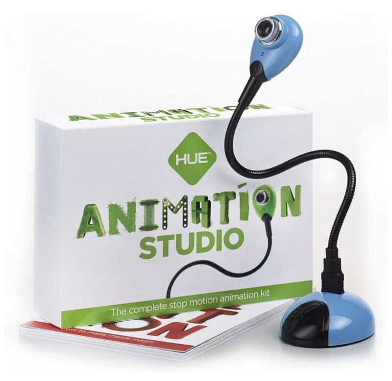 HUE Animation Studio: complete Stop Motion Animation Kit With Camera, Software