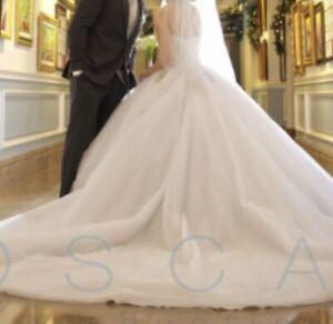 Luxury italian wedding dress