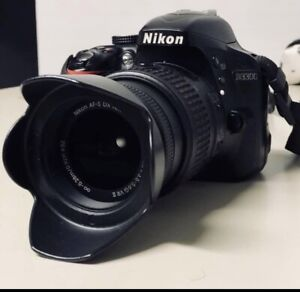 Nikon D3300 with 18-55mm & 70-300mm lens