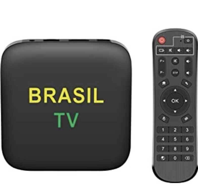 BRAZIL TV BOX = Box 4GB + 1 Year complete package with 12000 contents FHD