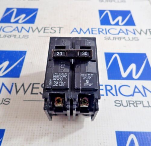SIEMENS B230H CIRCUIT BREAKER TYPE BLH 2 POLE 30A 240V
