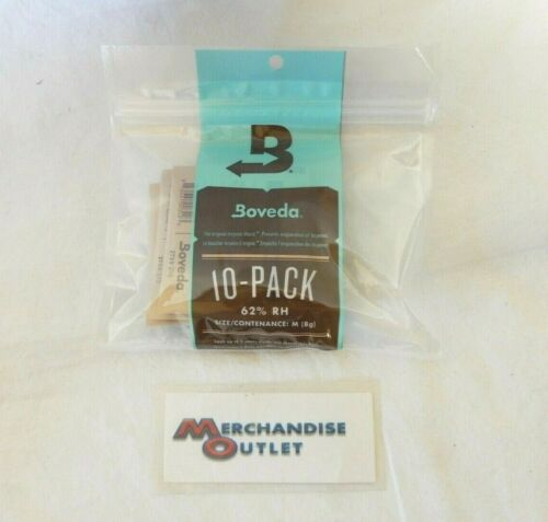 Boveda Terpene Shield 62% RH Size M (8g) - Pack of 10