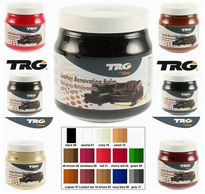 TRG FURNITURE WAX POLISH CREAM REVIVER CLEANER  LEATHER SOFA