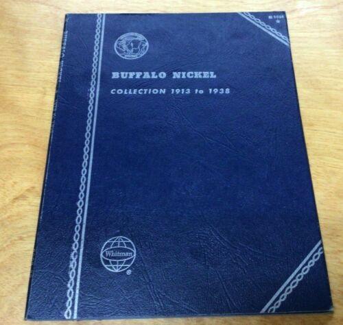 Whitman Buffalo Nickel Folder 1913 to 1938  #9008 NEW OLD STOCK