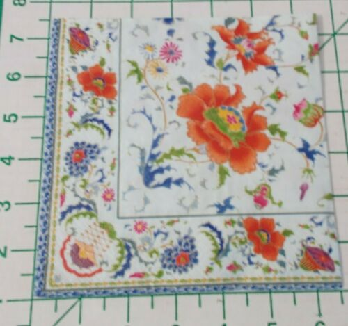 """Two Decorative Luncheon Napkins for Decoupage """"Chinese Ceramic"""""""