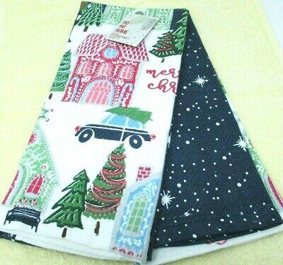 Ho Ho Home Kitchen Hand Towels 2 piece set 18x28