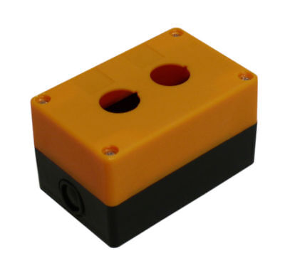 2-hole Switch Box For 22mm 78 Pushbutton Plastic Enclosure Power Push Button