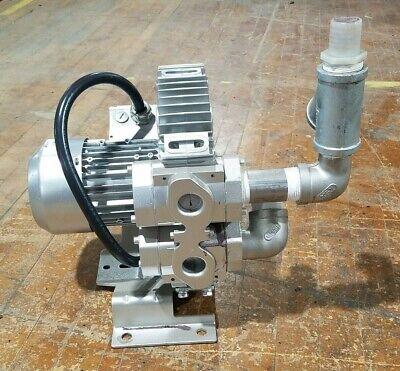 Airtech 3ba7310-0at267 Vacuum Pump Regenerative Blower 5060hz 0.810.94kw Used
