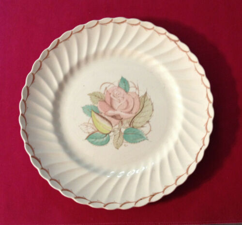 vintage Rose dinner plate SUSIE COOPER hand painted china England