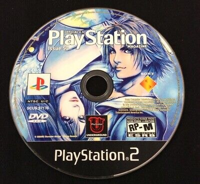 Official Sony Playstation 2 Magazine Demo/Promo Disc • Issue 53