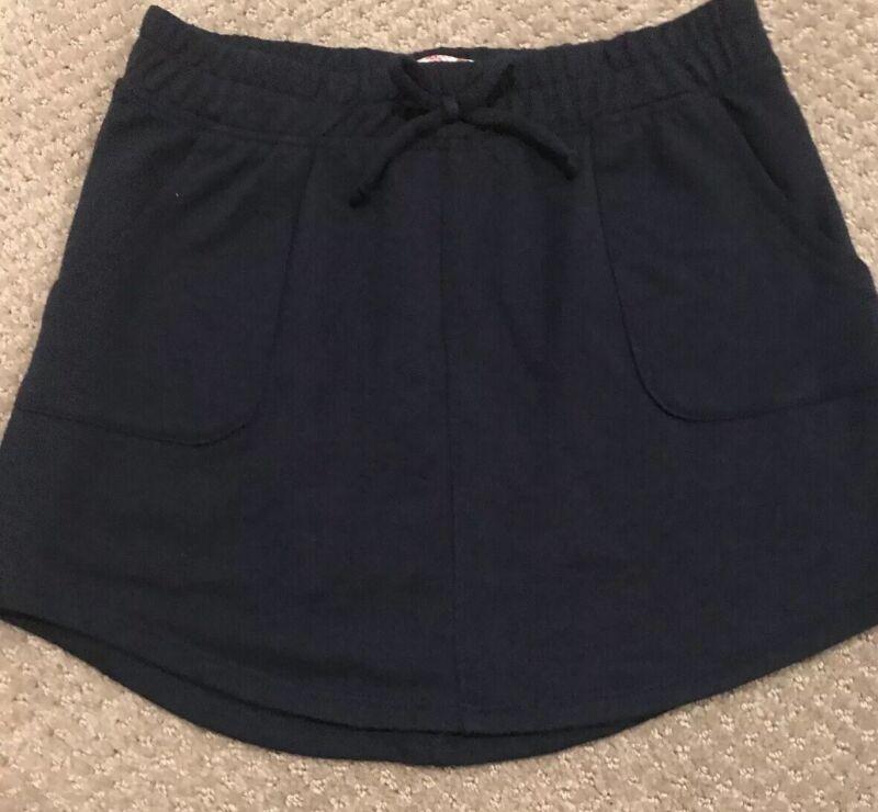 Skirt (size 7/8) Navy with cute navy bow on waistband