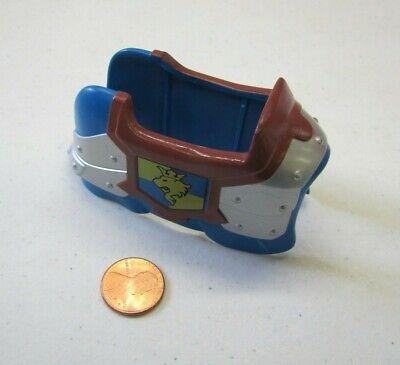 Lego Duplo HORSE ARMOR SADDLECLOTH CASTLE SET Blue Gold Lion Arms Rare Vintage