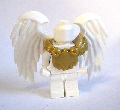 Custom Armor & BIRD WINGS (White) for Custom Minifigures - Angel, Superheroes