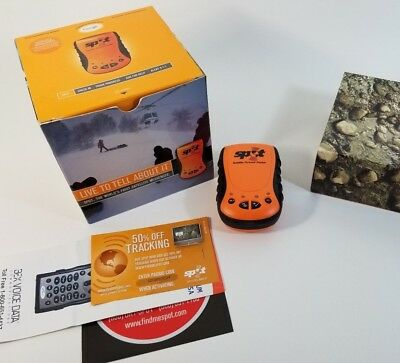 Spot Satellite Personal Tracker Generation 1 Google Messenger Gps Handheld