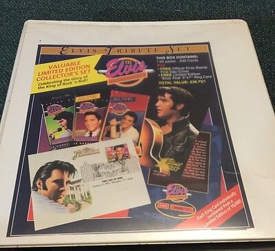 THE ELVIS COLLECTION COMPLETE 660 CARD SET (RIVER GROUP 1992) Trading Cards +