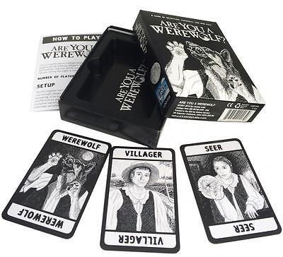 Are You A Werewolf? Party Card Game Looney Labs New Full Box Packaging Halloween (New Halloween Games)