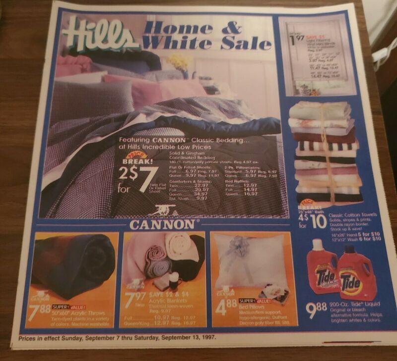 Defunct Hills Department Store Shopping Add Mint Shape Rare
