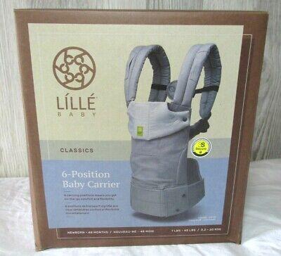 LÍLLÉbaby LILLE Baby Classics Original 6-Postition Baby Carrier Color Dove