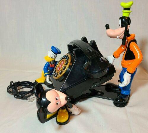 Mickey & Friends Talking Animated Phone - Mickey, Goofy, Donald Duck - NO BOX