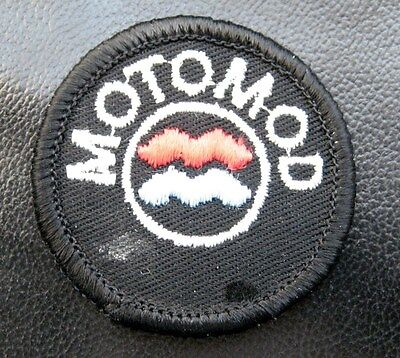 "MOTOMOD PATCH  MOTORCYCLE CLOTHING GLOVES JACKET ACCESSORIES 2"" round"