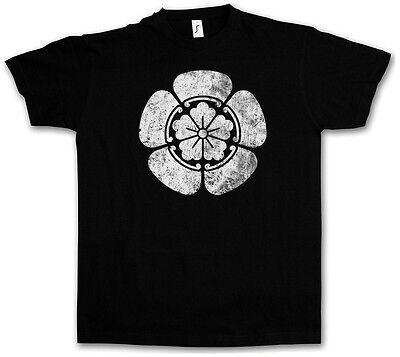 Japanische Logo T-shirt (ODA CLAN MON LOGO T-SHIRT Shogun Samurai Ninja Shogunat Japan Oda Nobunaga Edo)