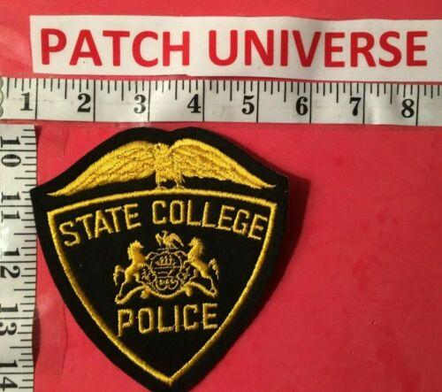 STATE COLLEGE PENN POLICE  SHOULDER PATCH    A045