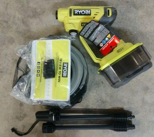 RYOBI 18V One+ 320 PSI EZ Clean Cordless Power Cleaner Model# RY120350