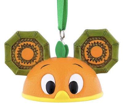 Disney Park Pack Holiday Ear Hat Ornament Orange Bird - Sub Box