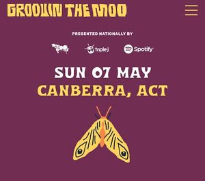 Selling 2 x 18+ Groovin the Moo Canberra tickets $120 each for sale  Gungahlin
