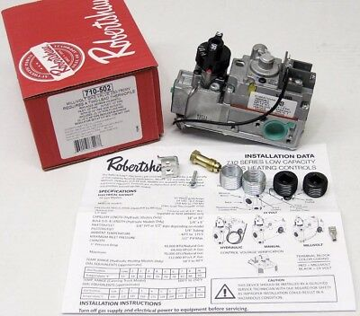 New Robertshaw 710-502 Gas Valve New