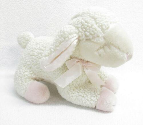 Vtg Lullaby Lamb Russ Berrie Stuffed Plush Musical Toy