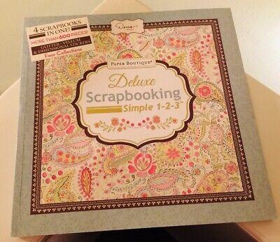 Dena Designs Paper Boutique Deluxe Scrapbooking Simple 1-2-3