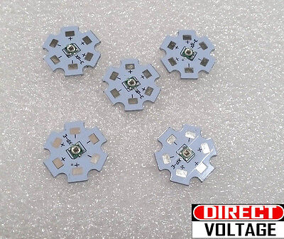 5pcs 3535 High Power 660nm Led Light Led Chip With 20mm Star Pcb