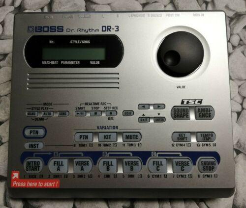 BOSS DR-3 - Dr. Rhythm Drum Machine - NEW