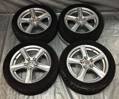 (2006-2015 Mazda Mx5 Miata Factory 16x6.5 Inch Wheels w Hankook Tires NC011)